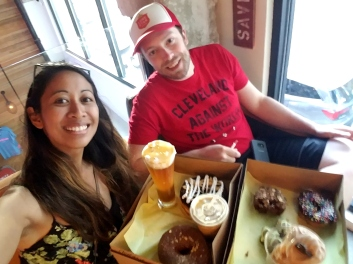 Donut Bar during #SDCC weekend