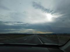 Roadtrip sunrise.